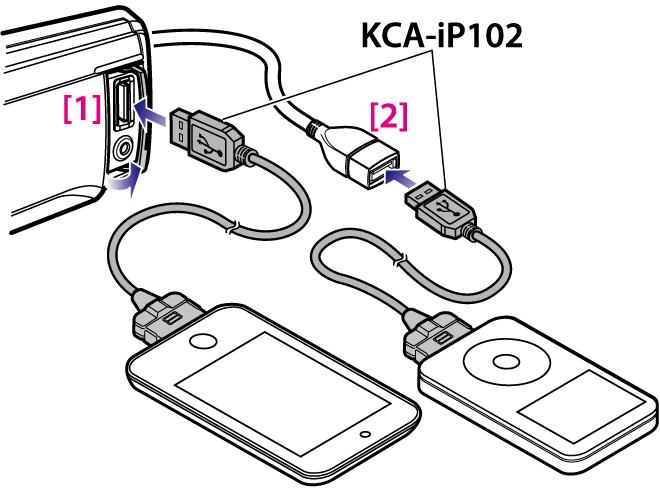 kdc 610u Kenwood Parametric EQ playing a ipod